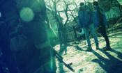 Наблюдатели СММ ОБСЕ во время патрулирования в Коминтерново, 15 января 2016 года. (ОБСЕ/Евгений Малолетка)
