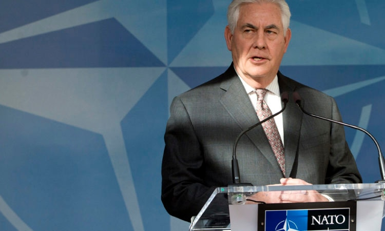 Tillerson at NATO