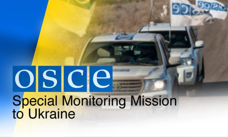 OSCE SMM in Pavlopil