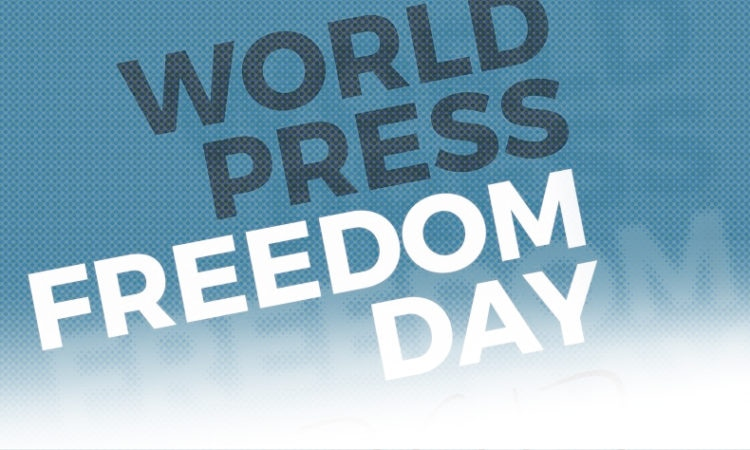 Logo of World Press Freedom Day