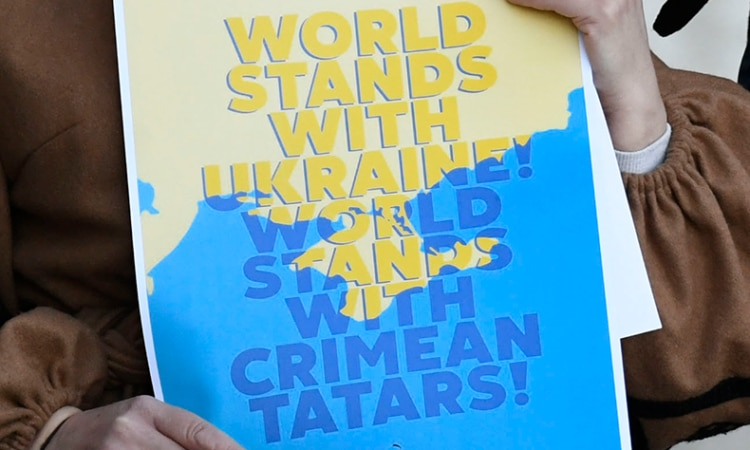 Crimea Ukraine sign