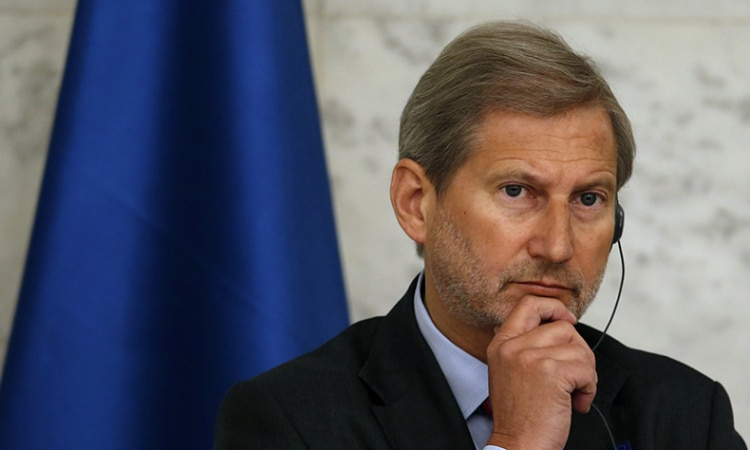 European Commissioner for European Neighborhood Policy Johannes Hahn
