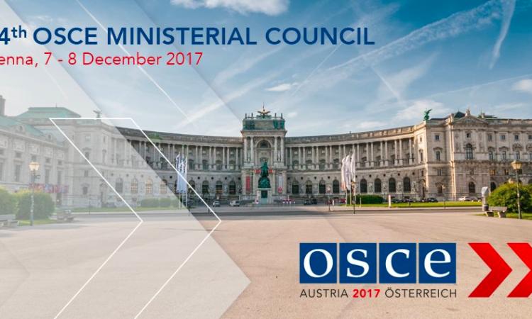 OSCE Ministerial Council Infoscreen
