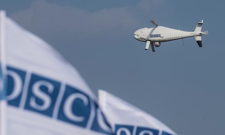 OSCE UAV in flight