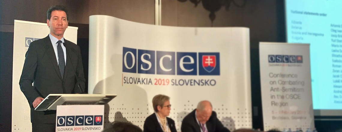 2019 OSCE International Conference Against Anti-Semitism